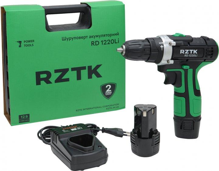 Дрель-шуруповерт аккумуляторный RZTK RD 1220Li