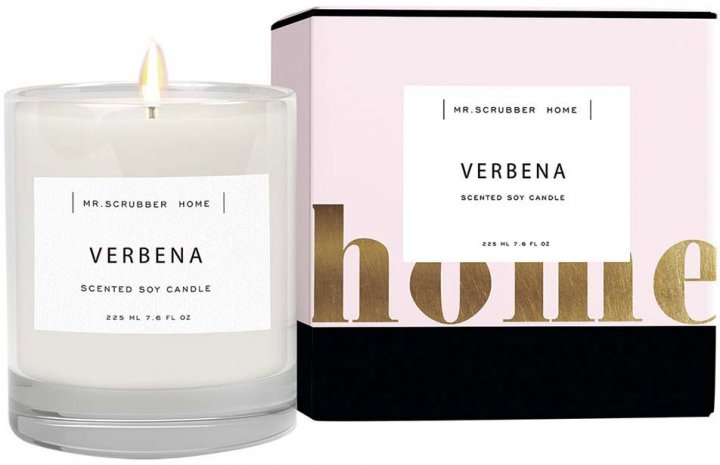 Ароматическая свеча Mr.Scrubber Home Verbena (4820200333083) - изображение 1