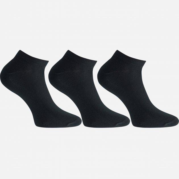 Набор носков Легка Хода 6332 41-42 3 пары Черные (ROZ6205085937) - изображение 1