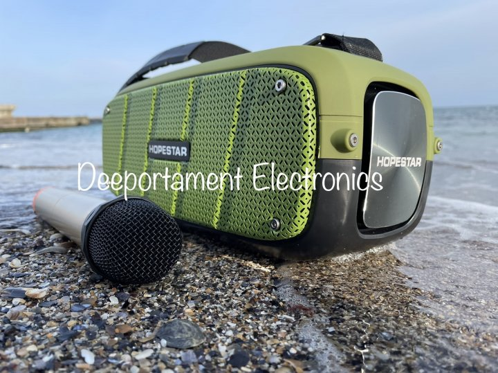 Портативная Bluetooth колонка Hopestar A20 Pro (зеленый) - изображение 1