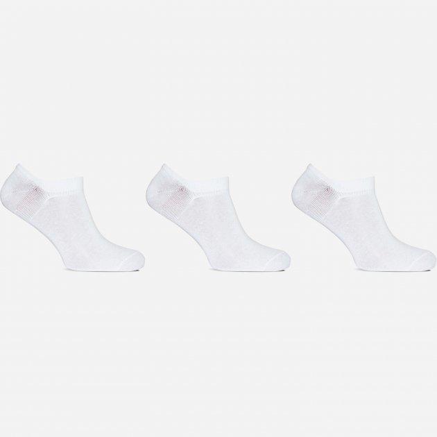 Носки Лео Lycra Сникерсы 29-31 3 пары Белые (ROZ6400005589) - изображение 1