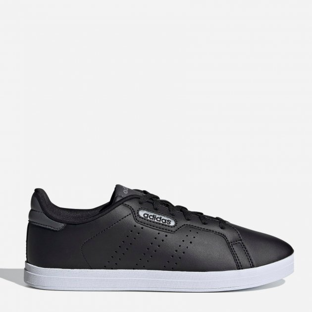 Кеды Adidas Courtpoint Base FW7384 38 (6UK) 24.5 см Core Black (4062059197472) - изображение 1