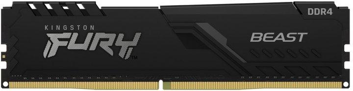 Оперативна пам'ять Kingston Fury DDR4-3733 16384 MB PC4-29864 Beast Black (KF437C19BB1/16) - зображення 1
