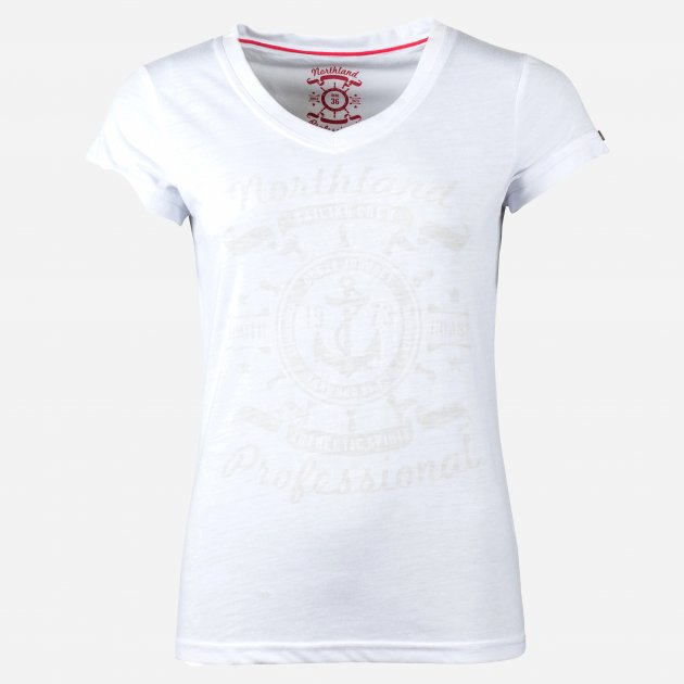 Футболка Northland Hanna T-Shirt 0956316 36 Біла (9009451768935) - зображення 1