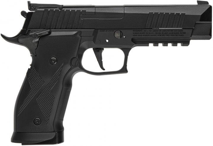Пістолет пневматичний Sig Sauer P226 X5 Blowback калібр 4.5 мм (AIR-X5-177-BLK) - зображення 1