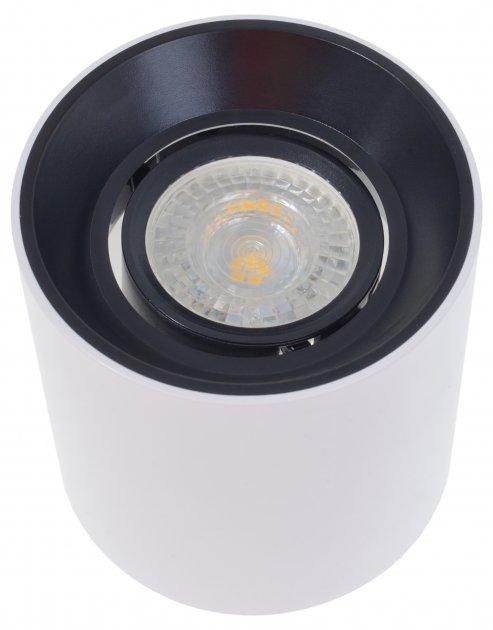 Точковий світильник Brille AL-709/1 GU5.3 BK/WH (36-291) - зображення 1