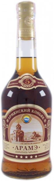 Бренді вірменський Араме 5* 0.5 л 40% (4850034001001) - зображення 1