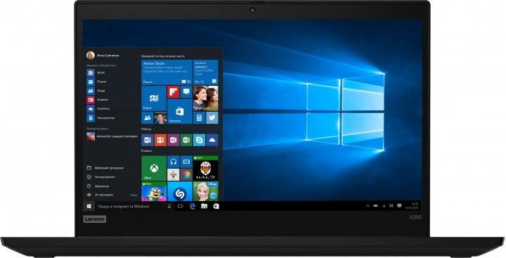 Ноутбук Lenovo ThinkPad X390 (20Q10005RT) Black - зображення 1