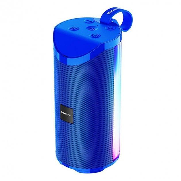 Колонка Borofone BR5 Bluetooth Speaker Синий (18967) - изображение 1