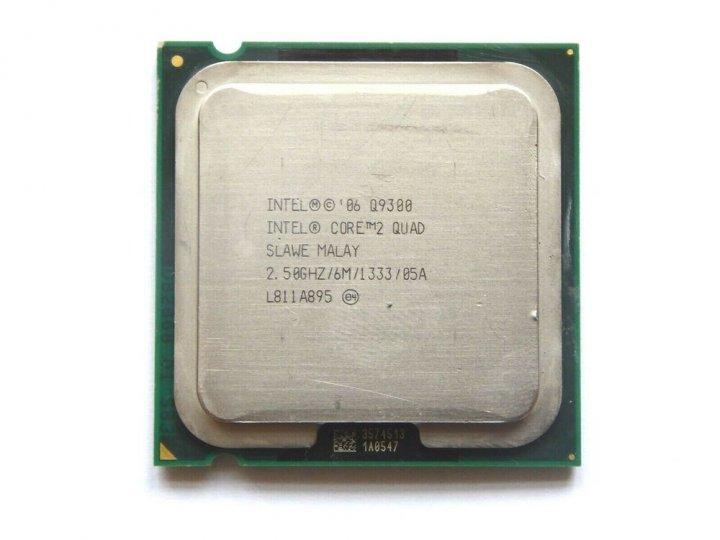 Процессор Intel Core2 Quad Q9300 LGA775 2.5GHz/ 6 MB/ 1333 Mhz s775 Tray Б/У - изображение 1