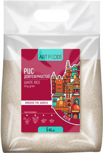 Рис Art Foods Длиннозернистый 5 кг (4820191592612) - изображение 1