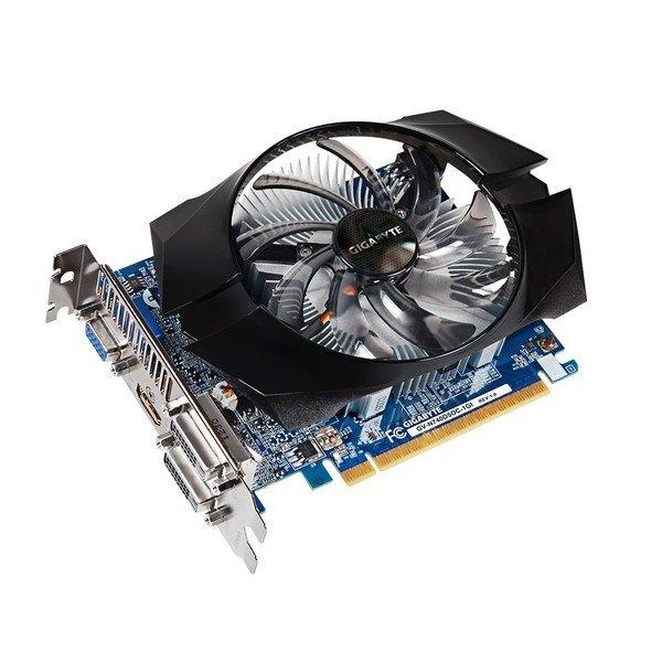 Відеокарта Gigabyte PCI-Ex GeForce GT 740 OC 1024MB GDDR5 (128bit) (993/5000) (VGA, 2 x DVI, HDMI) (GV-N740D5OC-1GI) Б/В - зображення 1