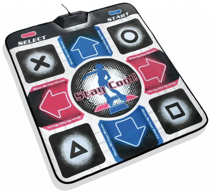 Танцювальний килимок, Extreme Dance Pad, музичний килимок для танців, (1000666-Black-0) - зображення 1