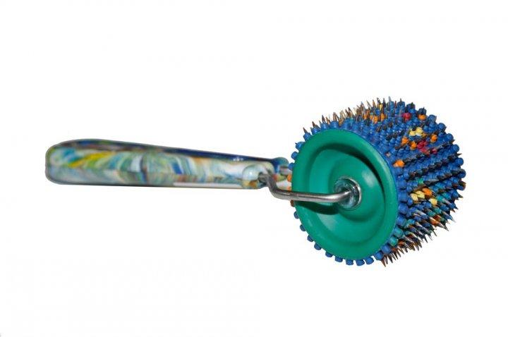 Валик лицевой Ляпко МУАЛЦ М 3,5 Ag (с резиновыми втулками) - изображение 1