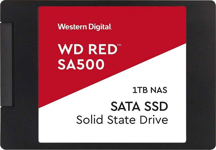 """Western Digital Red SA500 SSD 1TB 2.5"""" SATAIII (WDS100T1R0A) - зображення 1"""