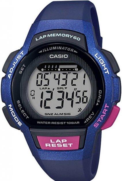 Жіночий годинник CASIO LWS-1000H-2AVEF - зображення 1