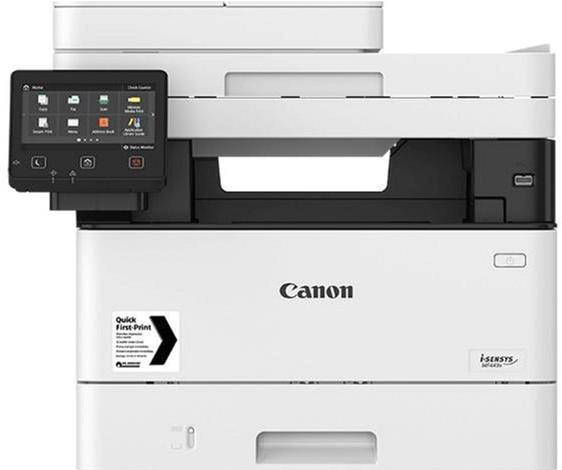 Canon i-SENSYS MF443dw, Wi-Fi, duplex, ethernet, DADF (3514C008) - зображення 1