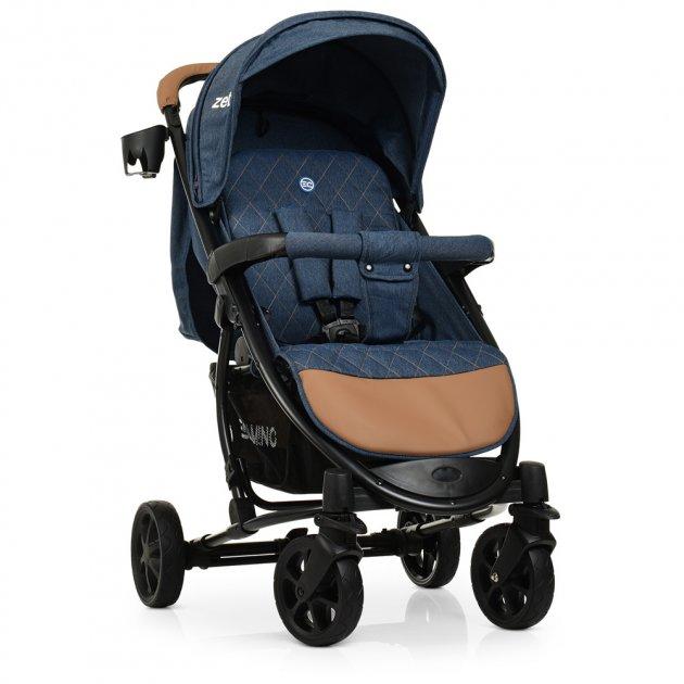 Прогулочная коляска EL Camino Zeta ME 1011L Denim Blue (ME 1011L) - изображение 1