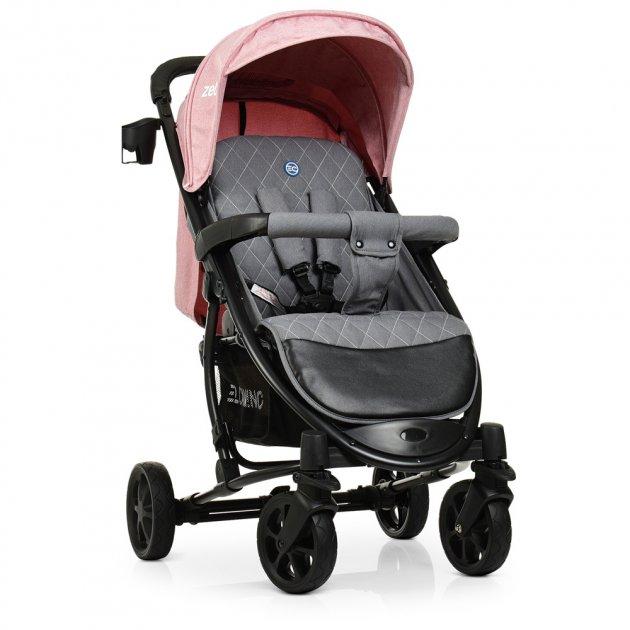 Прогулочная коляска EL Camino Zeta ME 1011L Pale Pink (ME 1011L) - изображение 1