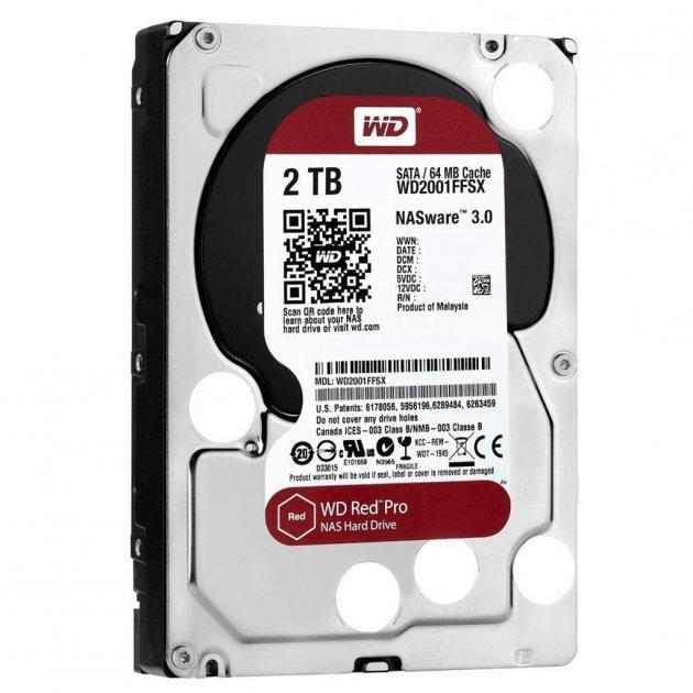 """Жорсткий диск 3.5"""" 2TB Western Digital (WD2002FFSX) - зображення 1"""
