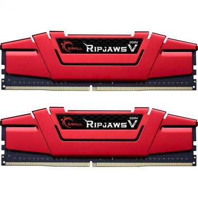 Модуль пам'яті для комп'ютера DDR4 32GB (2x16GB) 3600 MHz Ripjaws V G. Skill (F4-3600C19D-32GVRB) - зображення 1
