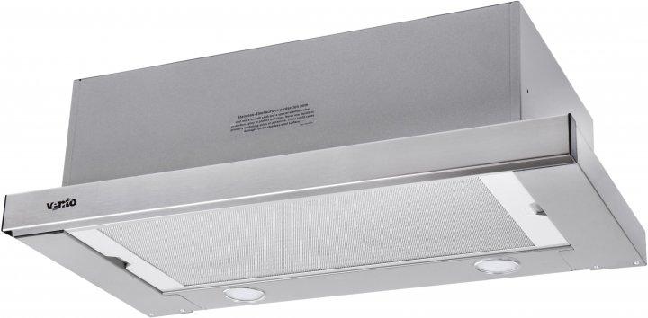 Витяжка Ventolux GARDA 60 INOX (750) SMD LED - зображення 1