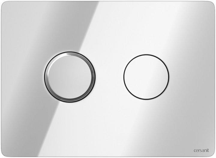 Панель смыва CERSANIT Accento Circle S97-056 хром глянцевый - изображение 1