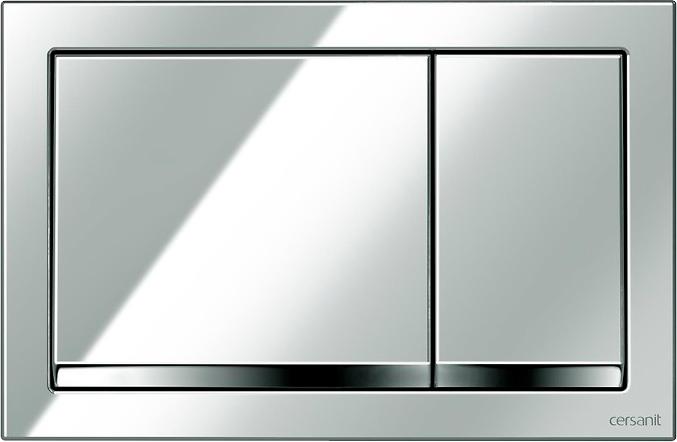 Панель смыва CERSANIT Enter K97-366 хром глянцевый - изображение 1