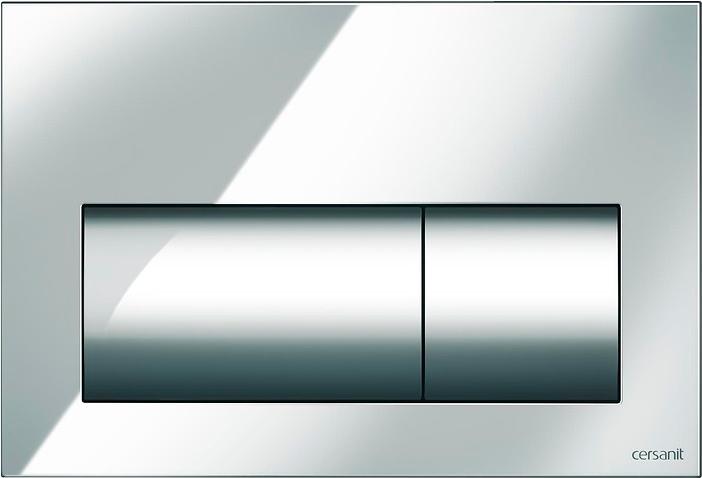 Панель смыва CERSANIT Presto K97-374 хром глянцевый - изображение 1