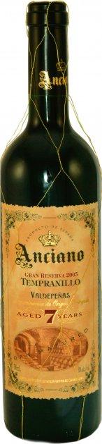 Вино Anciano Gran Reserva Tempranillo 7 Лет красное сухое 0.75 л 13% (5060108904421\5060108901451) - изображение 1