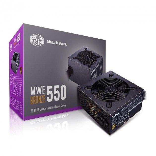 Блок живлення CoolerMaster MWE 550 Bronze V2 550W (MPE-5501-ACAAB-EU) - зображення 1