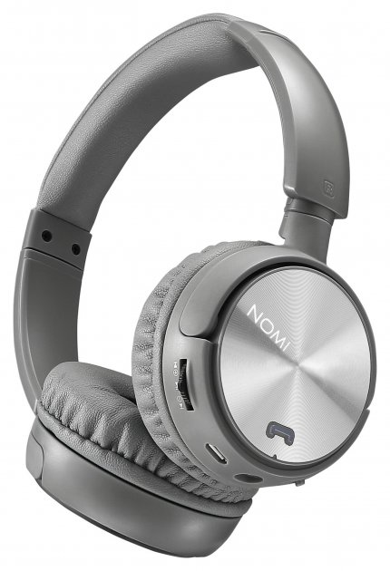 Навушники Nomi NBH-470 Lite Сірі - изображение 1