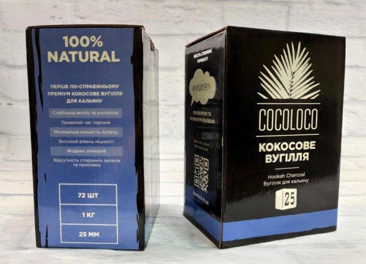 Уголь кокосовый для кальяна премиум Khmara CocoLoco - изображение 1