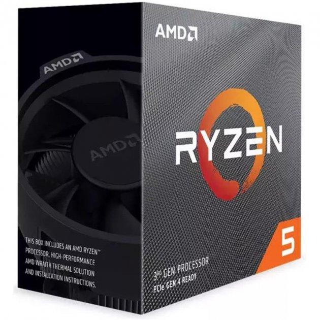 Процессор AMD Ryzen 5 3600 (3.6GHz 32MB 65W AM4) Box (100-100000031BOX) - изображение 1