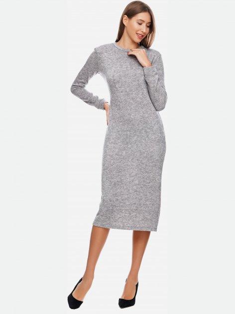 Платье ANNA YAKOVENKO 2900 XXS (40) Серое (ROZ6206119549) - изображение 1