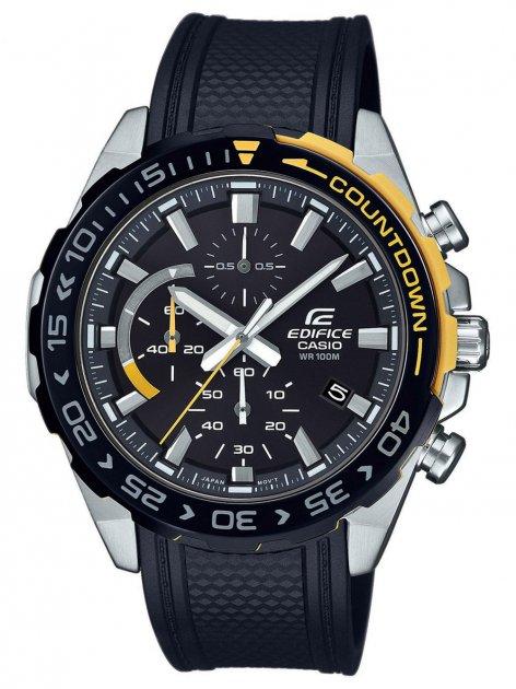 Годинник Casio EFR-566PB-1AVUEF Edifice Chronograph 43mm 10ATM - зображення 1
