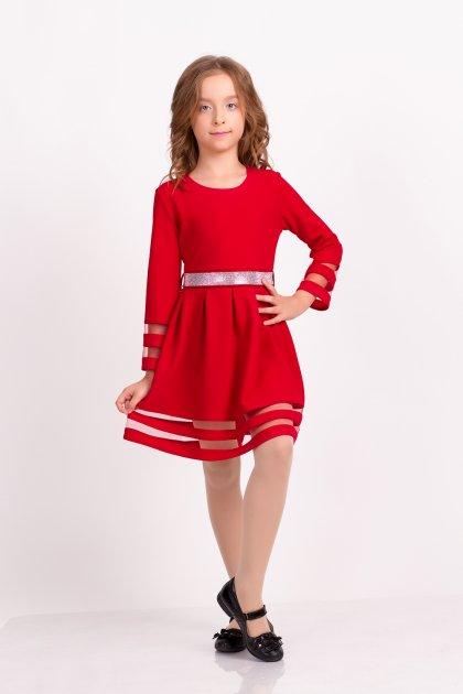 Платье детское ViDa 122 Красное (74-1) - изображение 1