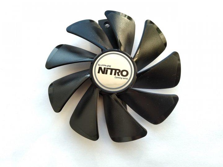 Вентилятор Champion для відеокарти Sapphire CF1015H12D (FD10015M12D) (№60) - зображення 1
