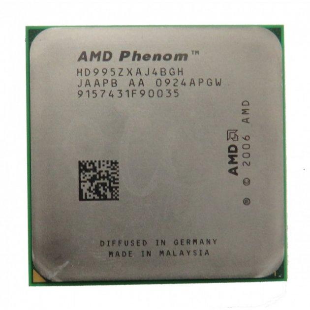 Процесор AMD PHENOM X4 9950 Black Edition 4 ЯДРА, 2,6 GHz sAM2+ Tray ( HD995ZXAJ4BGH ) - зображення 1
