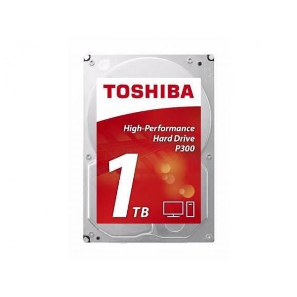 """Жесткий диск 3.5"""" 1Tb Toshiba P300, SATA3, 64Mb, 7200 rpm - изображение 1"""