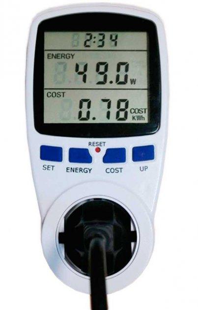 Энергометр(лічильник електроенергії розетковий) Feron TM55 - зображення 1