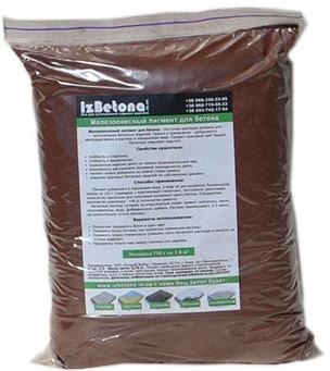 Коричневый краситель для бетона купить пропорции пластификатора в цементном растворе