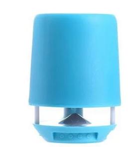 Портативна Bluetooth колонка SPS E 304T з підсвічуванням, блакитна - зображення 1