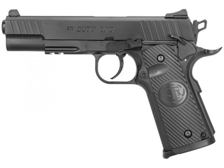 Пістолет пневматичний ASG STI Duty One Blowback. Корпус - метал. 23702504 - зображення 1