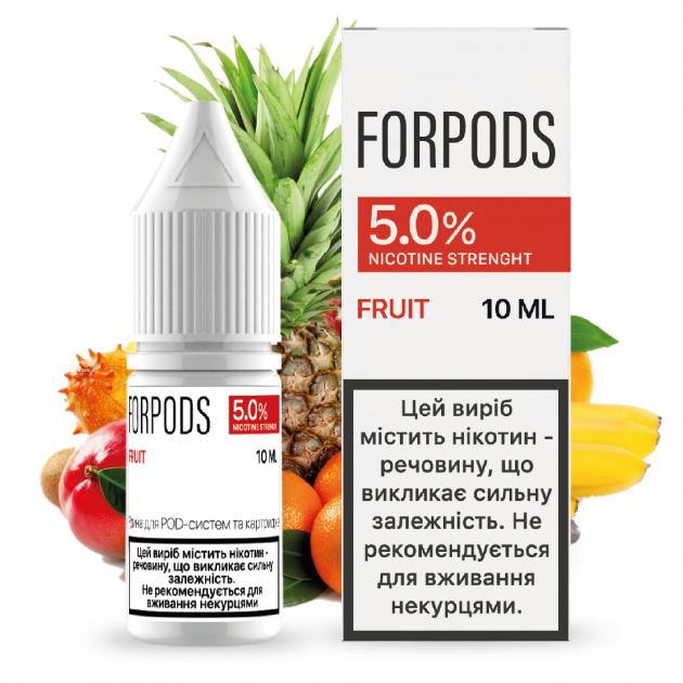 Рідина для POD систем FORPODS Fruit 50 мг 10 мл (Фрукти) (FP-FR-50-10) - зображення 1
