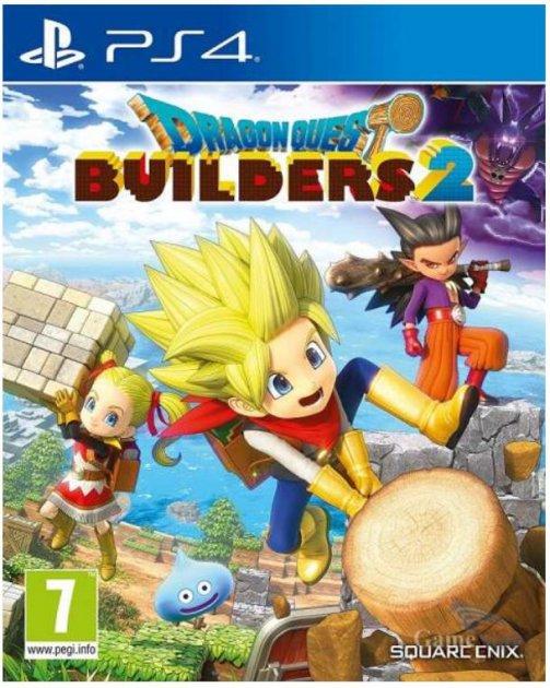 Игра Dragon Quest Builders 2 Standard Edition для PS4 (Blu-ray диск, English version)
