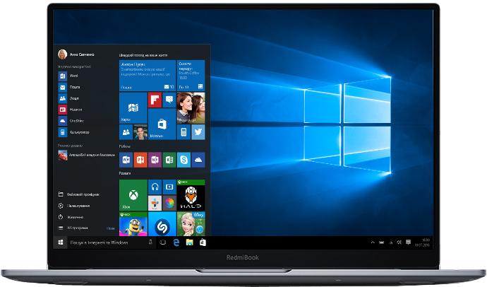 """Ноутбук Xiaomi Mi RedmiBook Air 13"""" (JYU4315CN) Grey - зображення 1"""