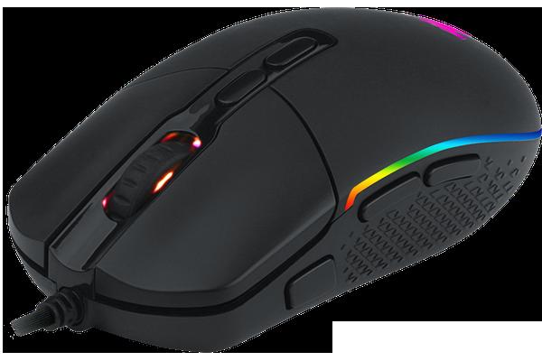 Мышь Redragon Invader RGB IR USB Black (78332) - изображение 1