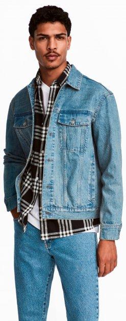 Куртка джинсовая H&M 12-4976409 XL Голубая (2000000866659) - изображение 1
