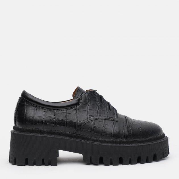 Туфли LeoModa 21115/1/2 38 (24.5 см) Черные (2000000000558)